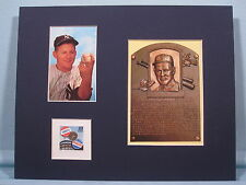 New York Yankee great Whitey Ford & stamp issued to honor the Subway Series