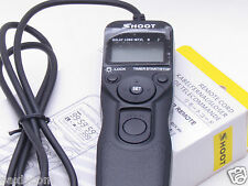 SHOOT MC-36 MC-30 Timer Remote Shutter Release For Nikon D700 D300 D200 D3 D2