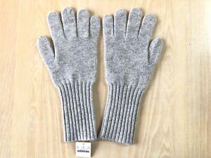 J.Crew Collection Cashmere Gloves   One Size   Hthr Dusk   $58