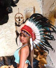Federhaube Indianer Kopfschmuck War bonnet  Indianerschmuck Coiffe Indienne LBH
