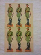 Soldatini di carta : SOLDATO CAVALLERIA SUDISTA  - EDIZIONI MARCA STELLA N. 26