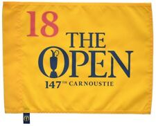 2018 OFFICIAL (Carnoustie) BRITISH OPEN Golf FLAG