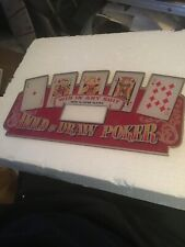 Poker Slot Machine Colorful Header