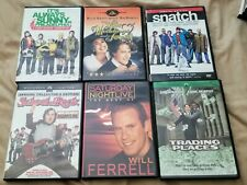 Comedy Dvd Collection -6 Movies- School of Rock, Snl: Will Ferrell, Snatch, Etc.