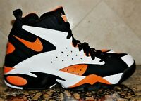 NIKE Air Maestro II LTD White Rush Orange Black AH8511-101 Men's Size 10 NEW
