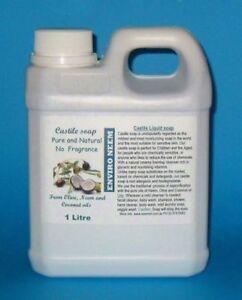 Castile Liquid Soap, HAND WASH, Super Thick, Makes 3 to 4 times more soap