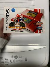 Brand New Nintendo Mario Kart Ds Red System Bundle Game Included