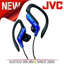 Auriculares azul con conexión cable JVC