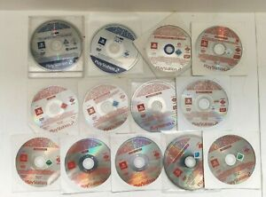 RARE Bundle Of 13 Official Playstation 2 PS2 Beta Test & Promo Discs