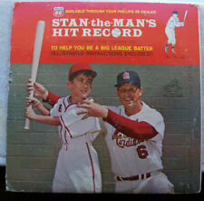 STAN MUSIAL Stan The Man's Hit Record Vinyl LP 1963 RCA  PR-141 with booklet