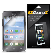 4X EZguardz LCD Screen Protector Skin Cover Shield HD 4X For LG Lucky L16C