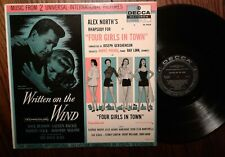 """""""Written on the Wind / Four Girls in Town"""" Soundtrack LP Decca DL 8424"""