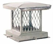 Stainless Steel Chimney Cap,New,8x8  00004000 To 17x17 Made in Usa