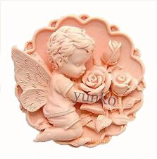 Yunko The Rose and the Elves Elf Fairy Circular Silicone Soap Molds