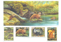 Ireland-Fauna min sheet and set mnh(2002)