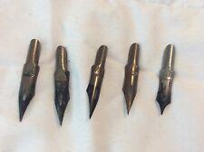 New listing 5 Pcs Vintage R. Esterbrook Pen Nibs Drafting Drawing Pen (4) # 048 (1) 442
