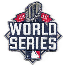 Official 2015 MLB World Series Patch New York Mets vs Kansas City Royals