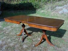 Vintage Hepplewhite Duncan Phyfe Mahogany Dining Table THOMASVILLE