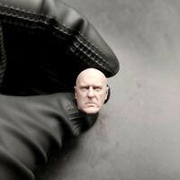 """1//12 Scale Black Widow Scarlett Johansson Head Sculpt Unpainted Fit 6/"""" ML Figure"""