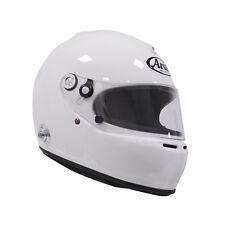 Arai GP-5K w/ HANS anchors White XS SA2005 Car Racing Helmet