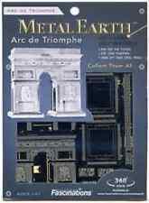 Fascinations Metal Earth 3D Laser Cut Steel Puzzle Model Kit - Arc de Triomphe