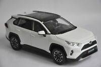 Toyota RAV4 2020 car model in scale 1:18 White