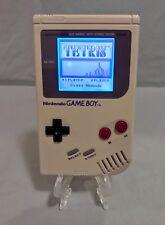 Nintendo Gameboy - Original DMG-01 - Backlight & Bivert Mod - New Glass Screen