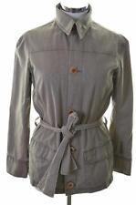 G-Star Womens Wrap Jacket Size 10 Small Grey Cotton