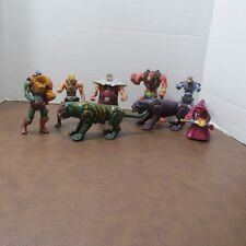 2002 McDonalds Masters of the Universe HE MAN set LOT 8 figures PANTHOR¤BEAST¤