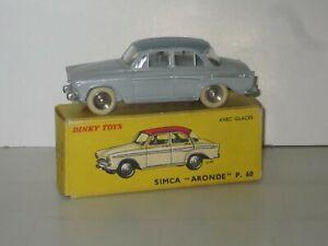 Dinky Toys France Simca Aronde P60   Ref 544 + boite VNMB