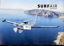 SURF AIR PRIVATE AIRLINE PILATUS PC-12 OVER CALIFORNIA CHANNEL ISLANDS AD