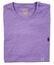 Polo Ralph Lauren Big and Tall Mens Purple Crewneck T-shirt Size LT