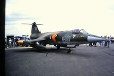 2/182-2 Lockheed F-104 Star Fighter Turkish Air Force Kodachrome SLIDE