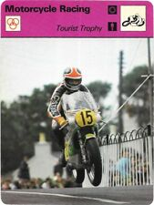 1977 Sportscaster Card Motorcycle Racing Tourist Trophy # 05-07 NRMINT.