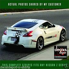 Fits NISSAN 350Z 370Z  Hood, Roof and Rear  2006-2017 DECAL STRIPE any Z series