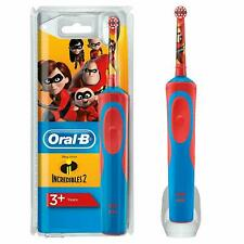 Oral-B Kids Toothbrush, Incredibles Disney Design, Rechargeable, Stages Power