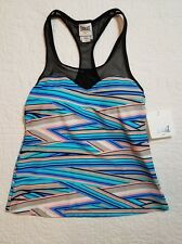 NEW WOMENS EVERLAST TANKINI SWIMSUIT TOP SZ S NWT $44