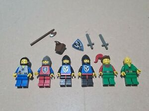 Lego 6103 Vintage Classic Knights Castle Minifigures Forestmen