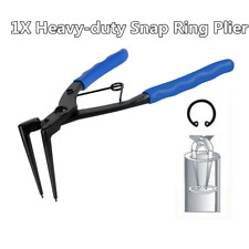 Blue Car Truck Snap Ring Pliers 90 Degree Long Nose For Internal Circlips Tool