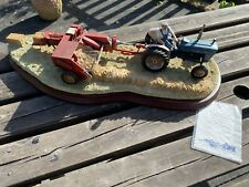 Border Fine Arts Hay Baling Ford 2000 Tractor Limited Edition 588/2002