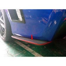 Painted Color For Subaru WRX STI 4th CS Side Rear Bumper Lip Splitter Spoiler