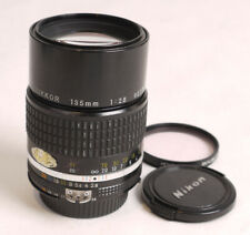 Nikon 135mm F2.8 AIs Nikkor Lens - Shows Use ~ Nice Glass