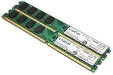 4GB (2x 2GB) VLP PC2-5300 / DDR2-667 non-ECC DESKTOP MEMORY RAM