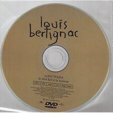 LOUIS BERTIGNAC longtemps DVD PROMO CLIPS + LIVE no cd telephone insus
