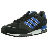 ADIDAS ORIGINALS MEN'S ZX 750 UK SIZE 7-12 BLACK TRAINERS SHOES RETRO CLASSIC