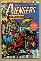 Avengers #119-1974 fn 6.0 John Romita / The Collector Rutland Parade