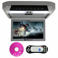 Rockville rvd10hd-gr 10,1 Pol Flip baixo Monitor DVD Player, Hdmi, Usb, Jogos, Led