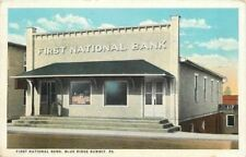 Blue Ridge Summit PA~First National Bank~A&P: Great Atlantic Pacific Tea Co~1930