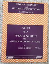 Vintage Rare, Aids to Technique & Guitar Interpretations Instruction Book