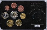 BankfJahrgangsreiner Euro-Kursmünzensatz Lettland 2014, NEU, Rarität, Limitiert